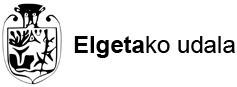 ELGETAKO UDALA logotipoa