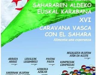 Sahararen aldeko elikagaien bilketa kanpaina abian da