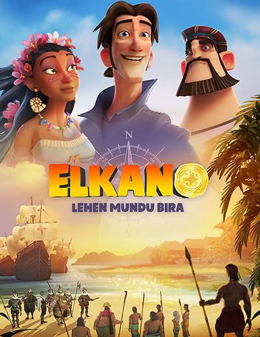 'Elkano, lehen mundu bira' filma, gaztetxoendako