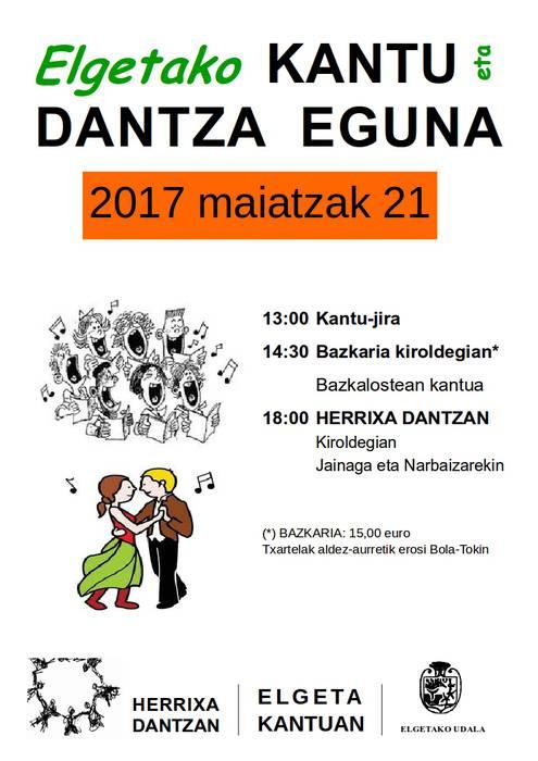 Kantu eta Dantza Eguna Elgetan