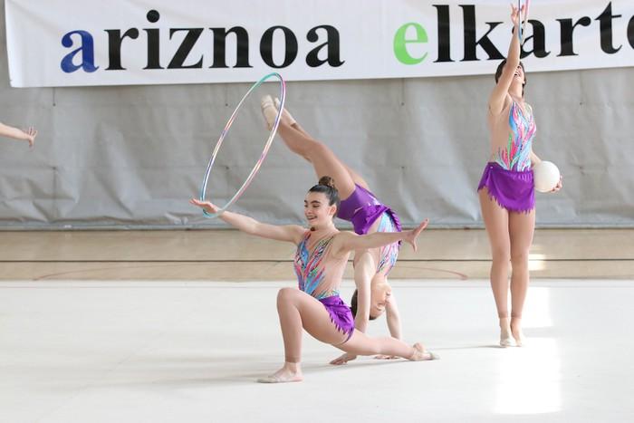 Maila bikaina gimnasia erritmikoko txapelketan - 49