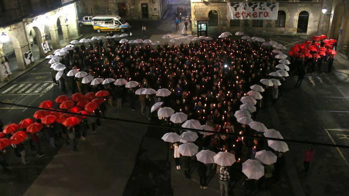 Presoen aldeko kultur ekitaldia egingo dute domekan Seminarixoan