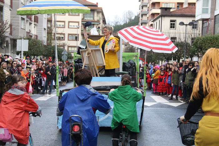 Inauterietako desfilea Aretxabaletan - 47