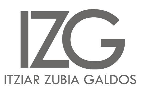Itziar Zubia Galdos (Arkitekto teknikoa) aparejadorea logotipoa