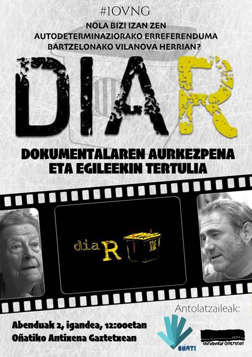 DIA R dokumentala Antixenan