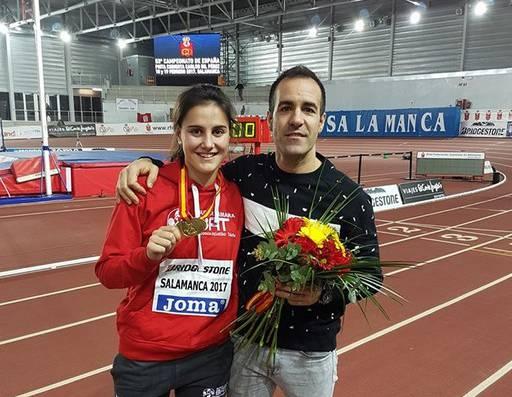 Malen Ruiz de Azuak urrezko domina lortu du Espainiako Txapelketan