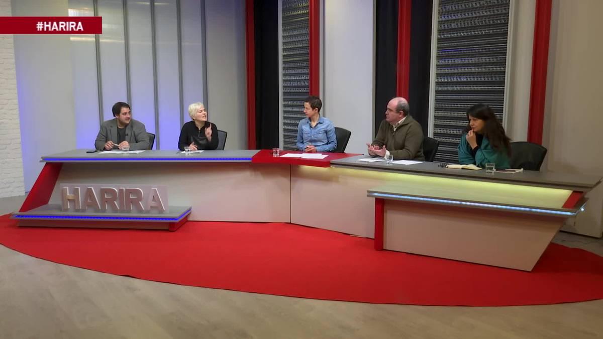 Espainiako gobernu berriaz, pentsioez eta euskal presoez, 'Harira: eztabaida' saioan