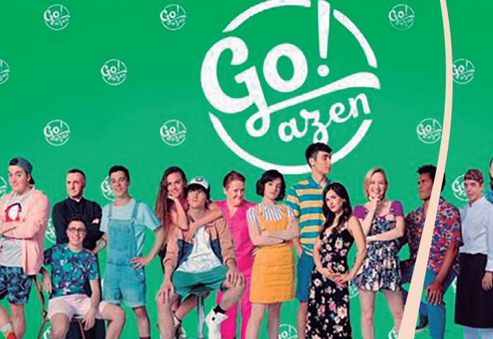 'Go!azen' emanaldirako sarrerak ditugu