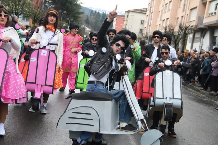Inauterietako desfilea Aretxabaletan - 80
