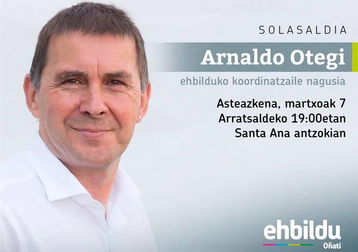 Arnaldo Otegirekin solasaldia