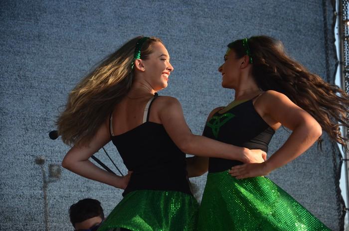 Irlandako dantzak eta musika, gaur, martitzena, Monterron parkean