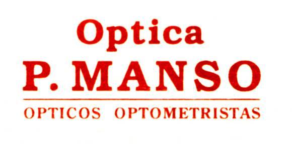 MANSO OPTIKA logotipoa
