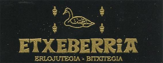 Etxeberria bitxitegia logotipoa