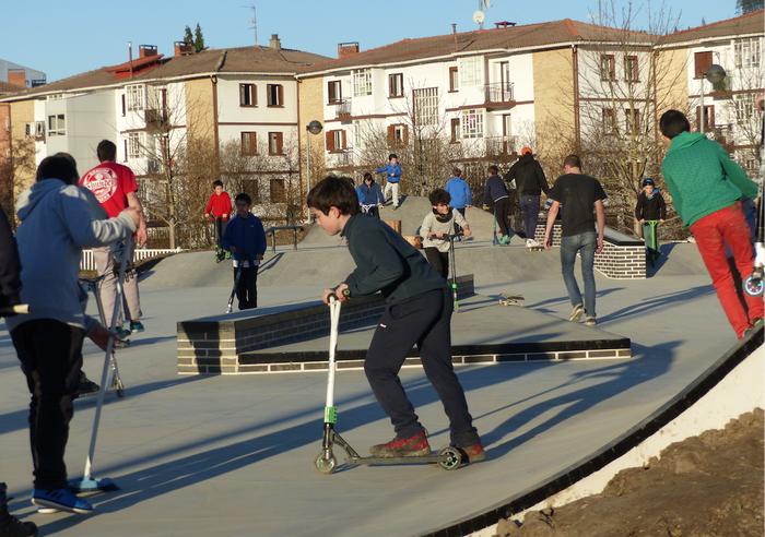 Skate parkea inauguratuko dute bihar, urtarrilak 5