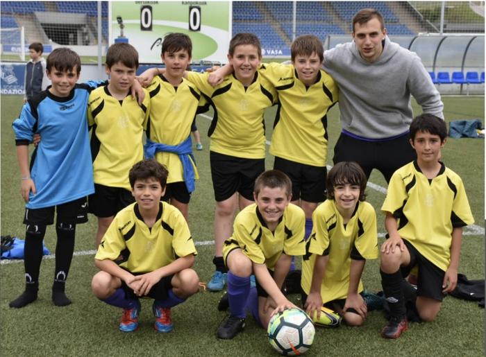 LEKeko talde batek Gipuzkoako zortziko futboleko finala jokatuko du