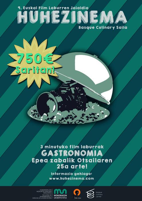 Huhezinemako Basque Culinary saileko epea otsailaren 25era arte luzatuta