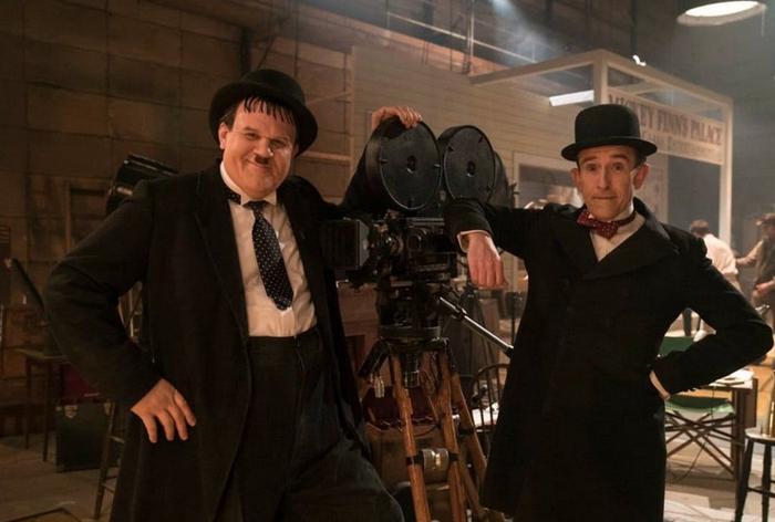 'El gordo y el flaco' filma