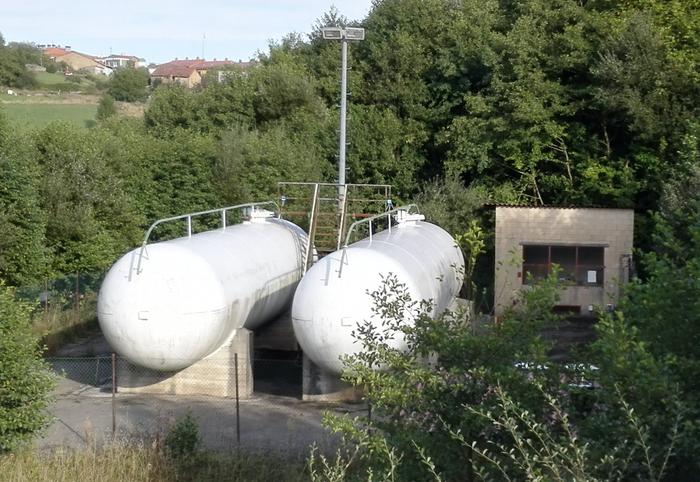 Natur Gasek erosi ditu Elgetako gas kanalizazioak