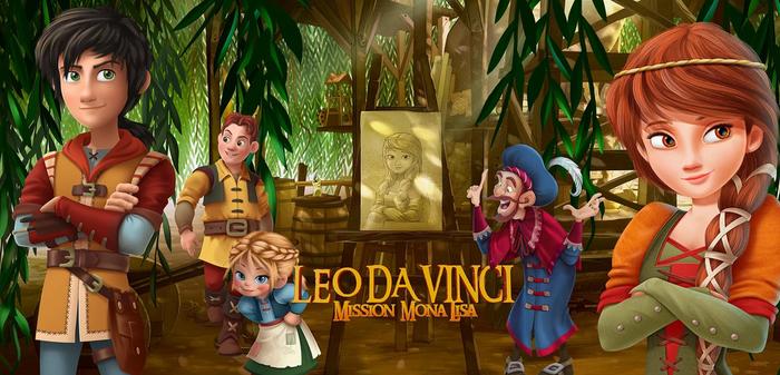 'Leo Da Vinci: Misión Mona Lisa' filma, gaztetxoendako