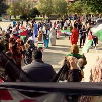 'Sahara aske' lelopean elkarretaratzea