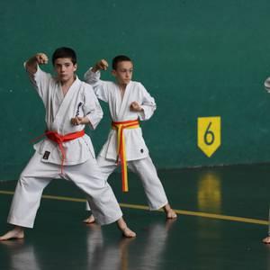 Saioa karate taldekoek Uarkape bete dute