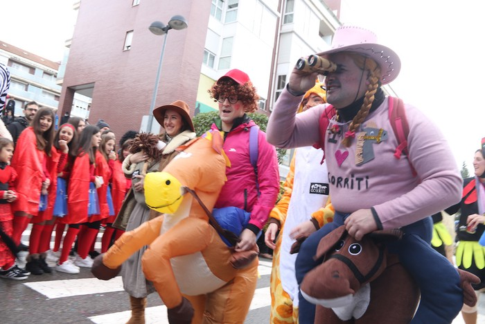 Inauterietako desfilea Aretxabaletan - 70