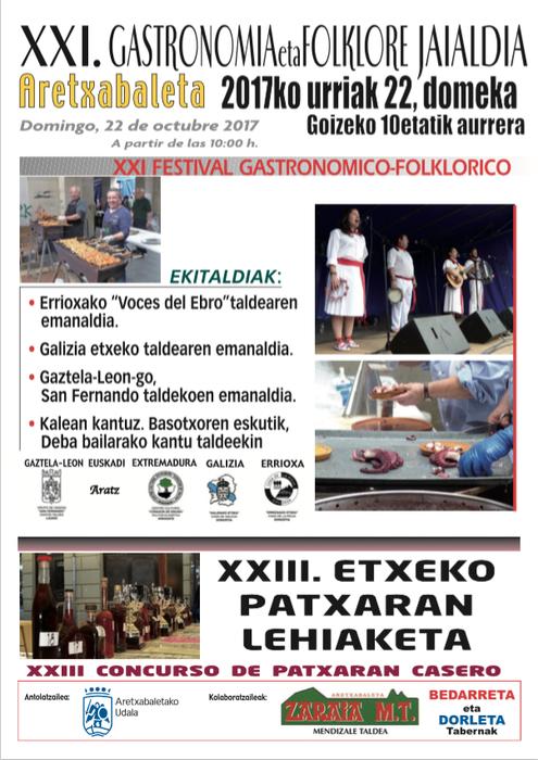 21. Gastronomia eta Folklore jaia