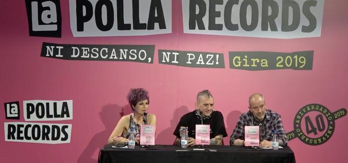 La Polla Records taldea bueltan da