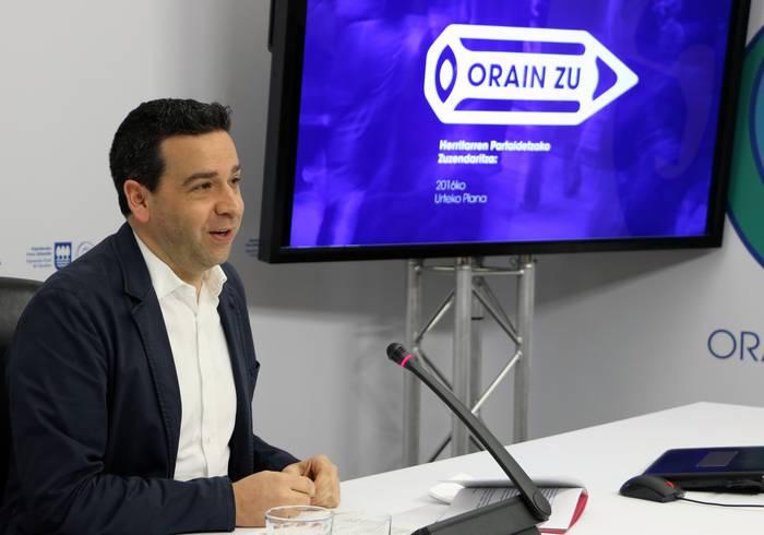 Herritarren partaidetza sustatuko du Aldundiak 40 prozesu abiatuta eta plataforma digital berri batekin