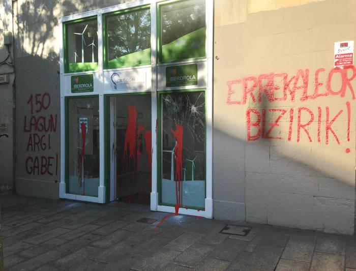 Erasoa Iberdrolaren bulego berriari