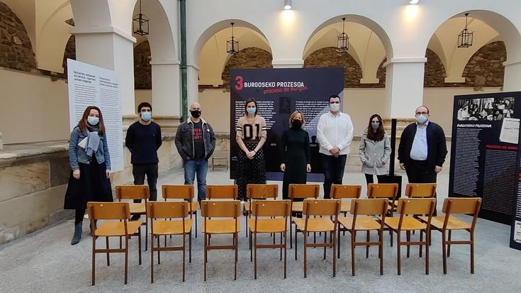 Burgosko epaiketari buruzko erakusketa inauguratu dute Kulturaten