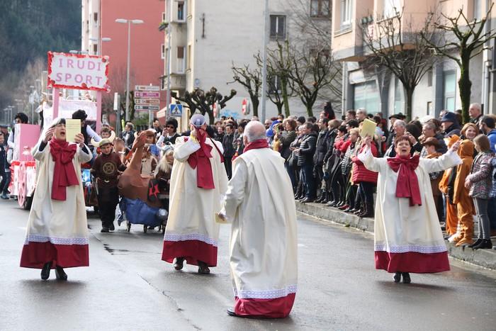Inauterietako desfilea Aretxabaletan - 42