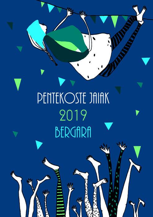 Bergarako jaiak 2019: Egitaraua