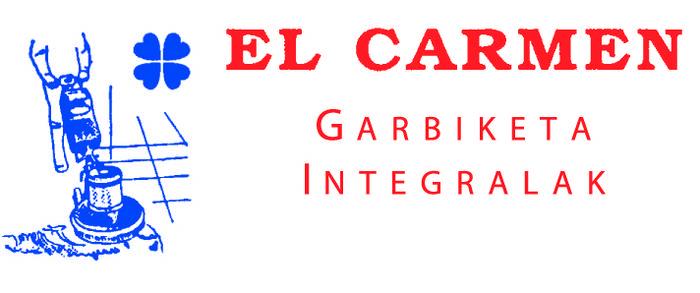 Limpiezas integrales El Carmen garbiketak logotipoa