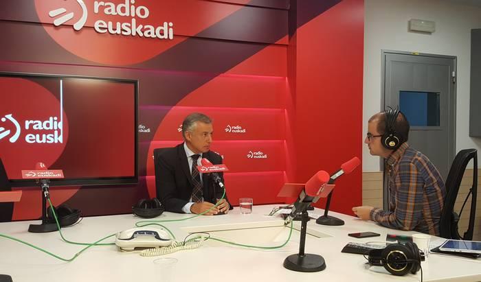 Euskadiko ekonomiaren joera positiboa azpimarratu du Lehendakariak eta enpleguaren kalitatean jarri du arreta