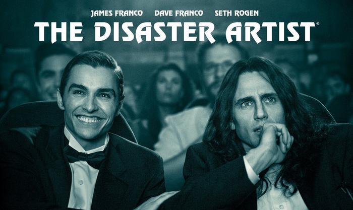 'The disaster artist' film, zineklubean