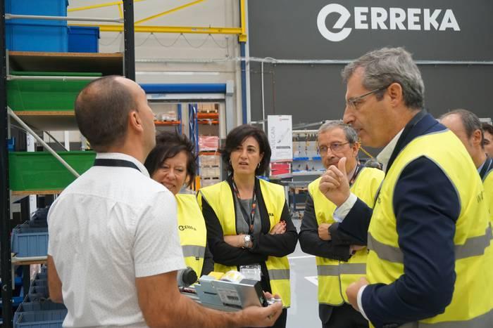 Erreka Groupek produkzio unitate berri bat inauguratu du Bergaran