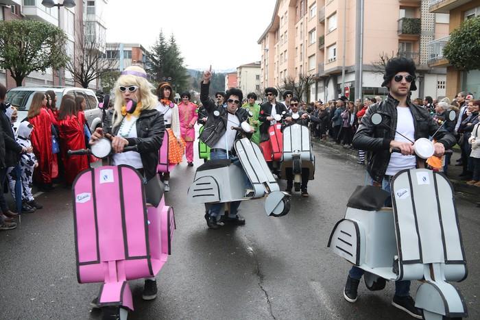 Inauterietako desfilea Aretxabaletan - 79