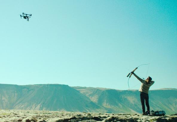 'La mujer de la montaña' filma