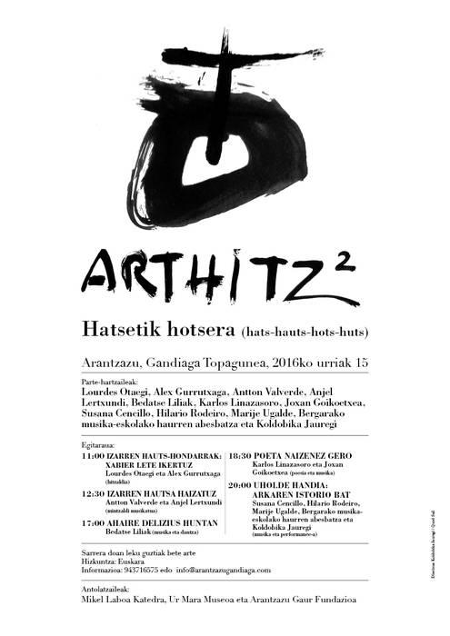 'Arthitz2' topaketa egingo dute datorren asteburuan