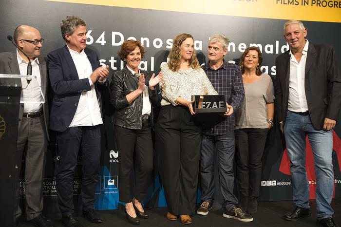 Euskadiko Zine Aretoen Elkarteak 'Amama' filma saritu du