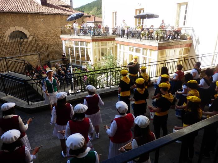 San Martingo danborrada Mizpirualdera joan da