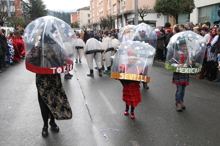 Inauterietako desfilea Aretxabaletan - 62