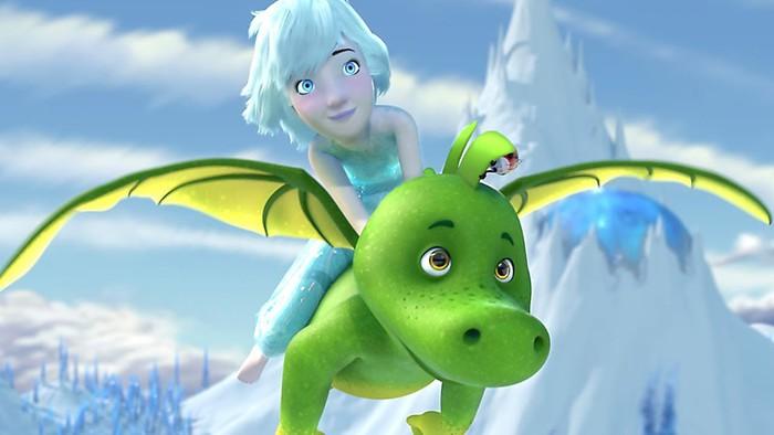 'Tabaluga y la princesa de hielo' filma