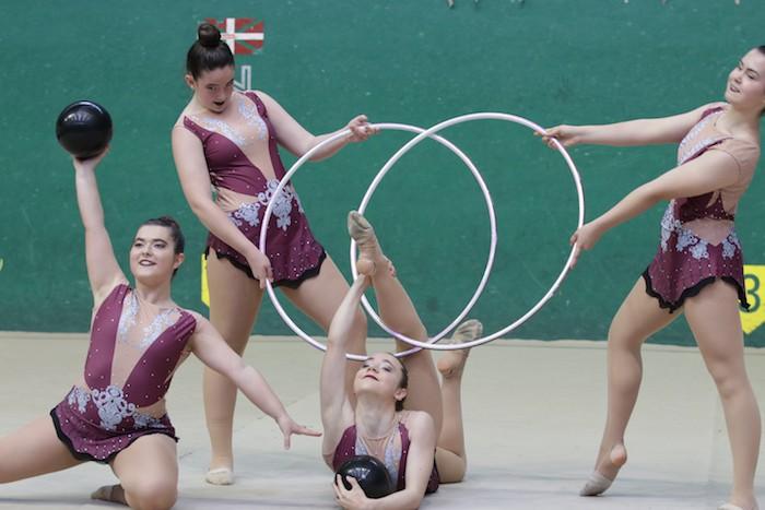 Ikasturte amaierako erakustaldia egin dute arrasateko gimnastek - 3