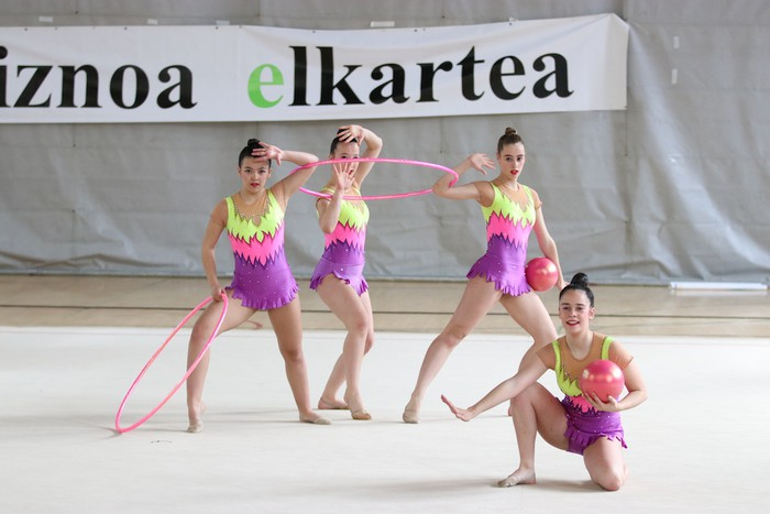 Maila bikaina gimnasia erritmikoko txapelketan - 8