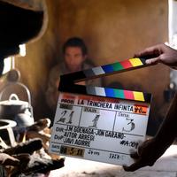 'La trinchera infinita' filma