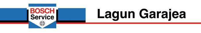 Lagun autoen garajea logotipoa