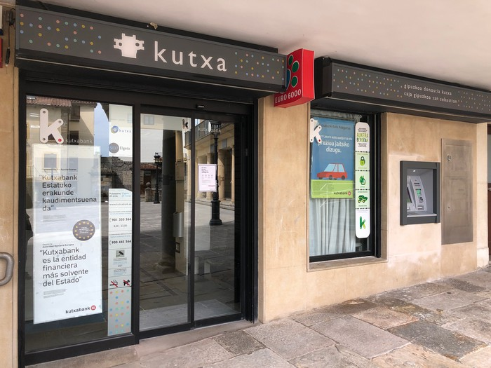 Kutxabank banketxeak itxi egingo du Elgetako bulegoa
