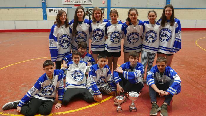 Bergarako Burdinola taldeak Euskadiko Kopa irabazi du, infantil mailan